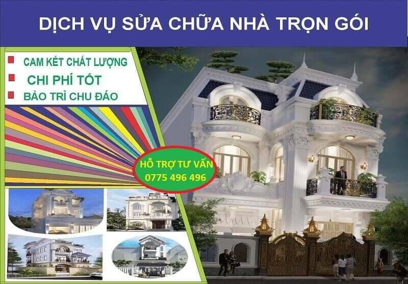 Sửa Chữa Nhà Chuyên Nghiệp Tại Tp Hồ Chí Minh